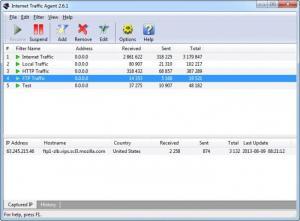 Enlarge Internet Traffic Agent Screenshot