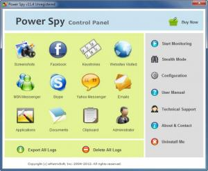 Enlarge Power Spy Screenshot