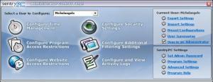 Enlarge SentryPC Screenshot