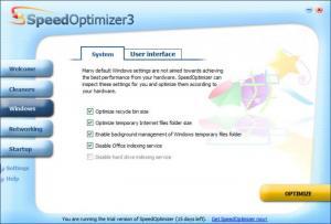 Enlarge SpeedOptimizer Screenshot