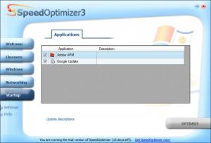 Enlarge SpeedOptimizer Screenshot