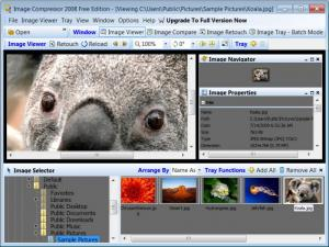 Enlarge Image Compressor 2008 Free Screenshot