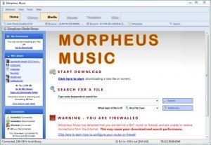 Enlarge Morpheus Music Screenshot