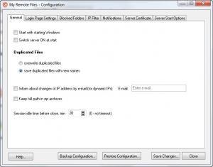 Enlarge My Remote Files Screenshot