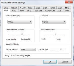Enlarge Smart Audio Converter Pro Screenshot