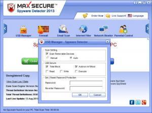 Enlarge Max Spyware Detector Screenshot