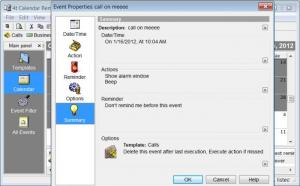 Enlarge 4t Calendar Reminder MP3 Screenshot