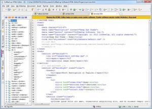 Enlarge CoffeeCup HTML Editor Screenshot