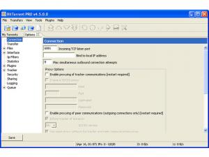 Enlarge BitTorrent PRO Screenshot