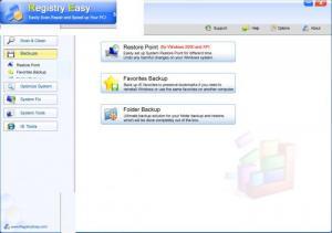 Enlarge Registry Easy Screenshot
