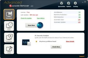 Enlarge Advanced Spyware Remover Screenshot