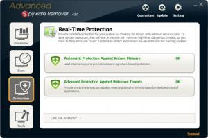 Enlarge Advanced Spyware Remover Screenshot