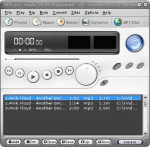 Enlarge MP3 WAV Studio Screenshot
