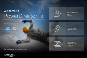 Enlarge CyberLink PowerDirector Screenshot