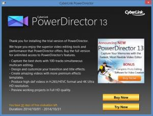Enlarge CyberLink PowerDirector Screenshot