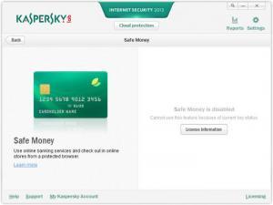 Enlarge Kaspersky Internet Security Screenshot
