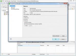Enlarge Zend Studio Screenshot