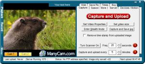 Enlarge Easy Web Cam Screenshot