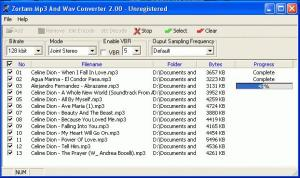 Enlarge Zortam Mp3 And Wav Converter Screenshot