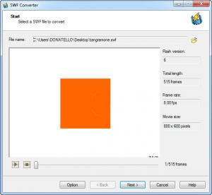 Enlarge Sothink SWF to Video Converter Screenshot