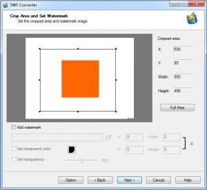 Enlarge Sothink SWF to Video Converter Screenshot