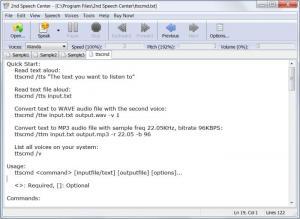 Enlarge 2nd Speech Center Screenshot