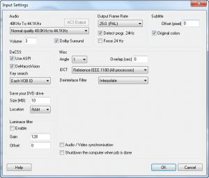 Enlarge 123 DVD Ripper Screenshot