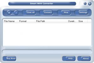 Enlarge Smart WAV Converter Standard Screenshot