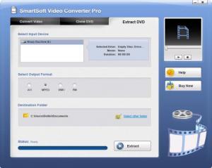Enlarge SmartSoft Video Converter Screenshot