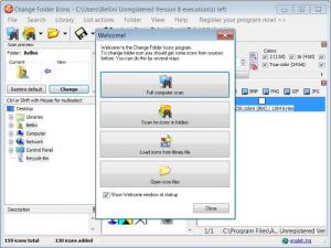 Enlarge Change Folder Icons Screenshot