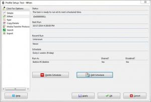 Enlarge SyncBackSE Screenshot
