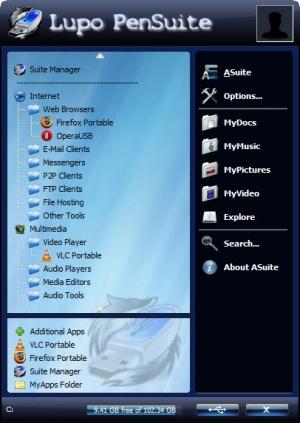 Enlarge Lupo PenSuite Screenshot