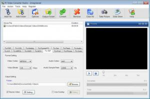 Enlarge PC Video Converter Studio Screenshot