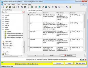 Enlarge TextPipe Pro Screenshot