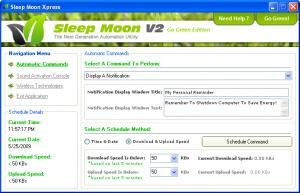 Enlarge Sleep Moon Xpress Screenshot