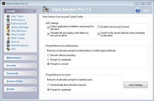 Enlarge Vista Smoker Pro Screenshot