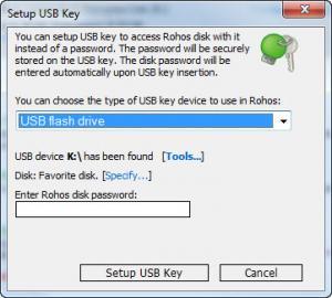Enlarge Rohos Disk Encryption Screenshot