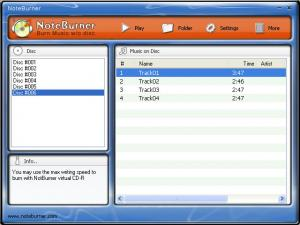 Enlarge NoteBurner M4P to MP3 Converter Screenshot