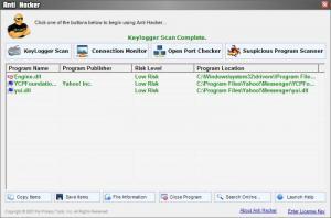 Enlarge Anti Hacker Screenshot