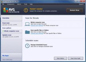 Enlarge AVG AntiVirus Free Screenshot
