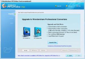 Enlarge Wondershare PPT2Video Free Screenshot