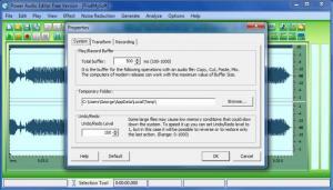 Enlarge Power Audio Editor Screenshot