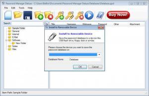 Enlarge Password Manager Deluxe Screenshot