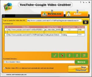 Enlarge Daily Motion Video Grabber Screenshot