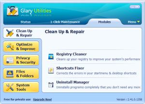 Enlarge Glary Utilities Pro Screenshot