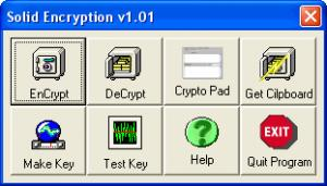 Enlarge Solid Encryption Screenshot