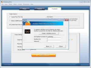 Enlarge SlideshowZilla Screenshot