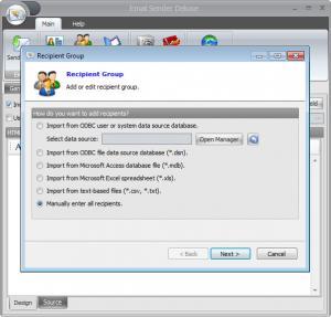 Enlarge Email Sender Deluxe Screenshot