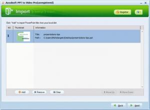Enlarge Acoolsoft PPT to Video Pro Screenshot