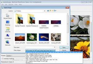 Enlarge PhotoZoom Classic 4 Screenshot